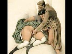 سبزه با جوراب های مشکی با لیست کانال های سکسی تلگرام مرد خالکوبی رابطه برقرار می کند